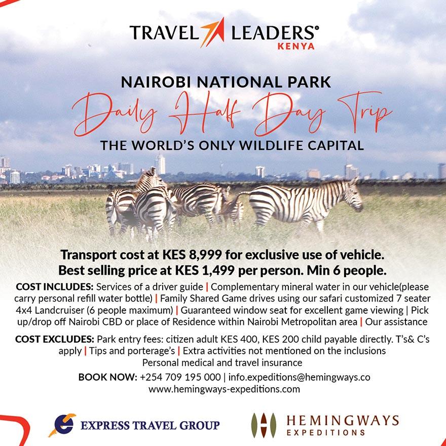 Nairobi National Park Package