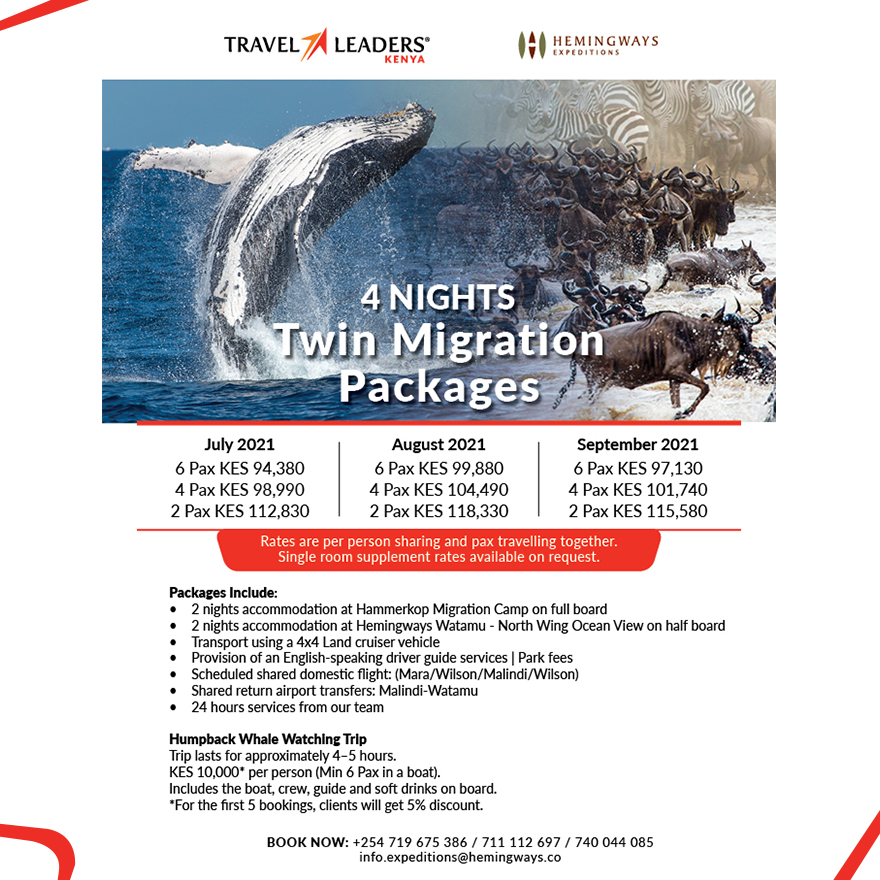4 Nights Twin Migration Packages