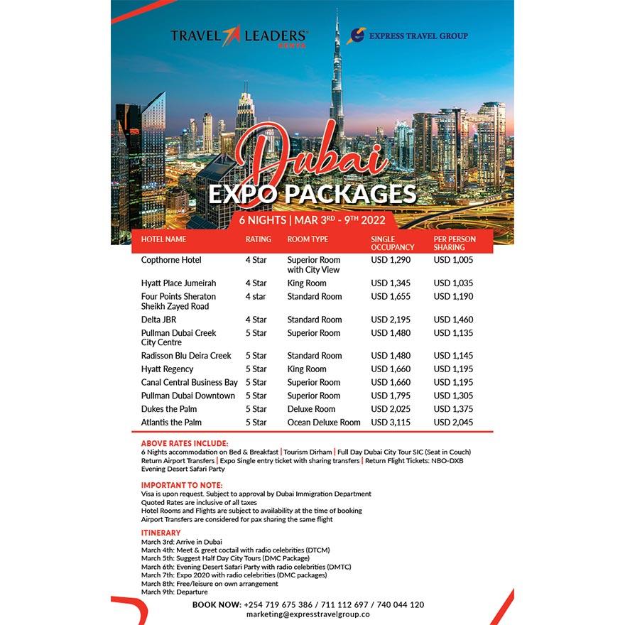 Dubai Expo Package Offer