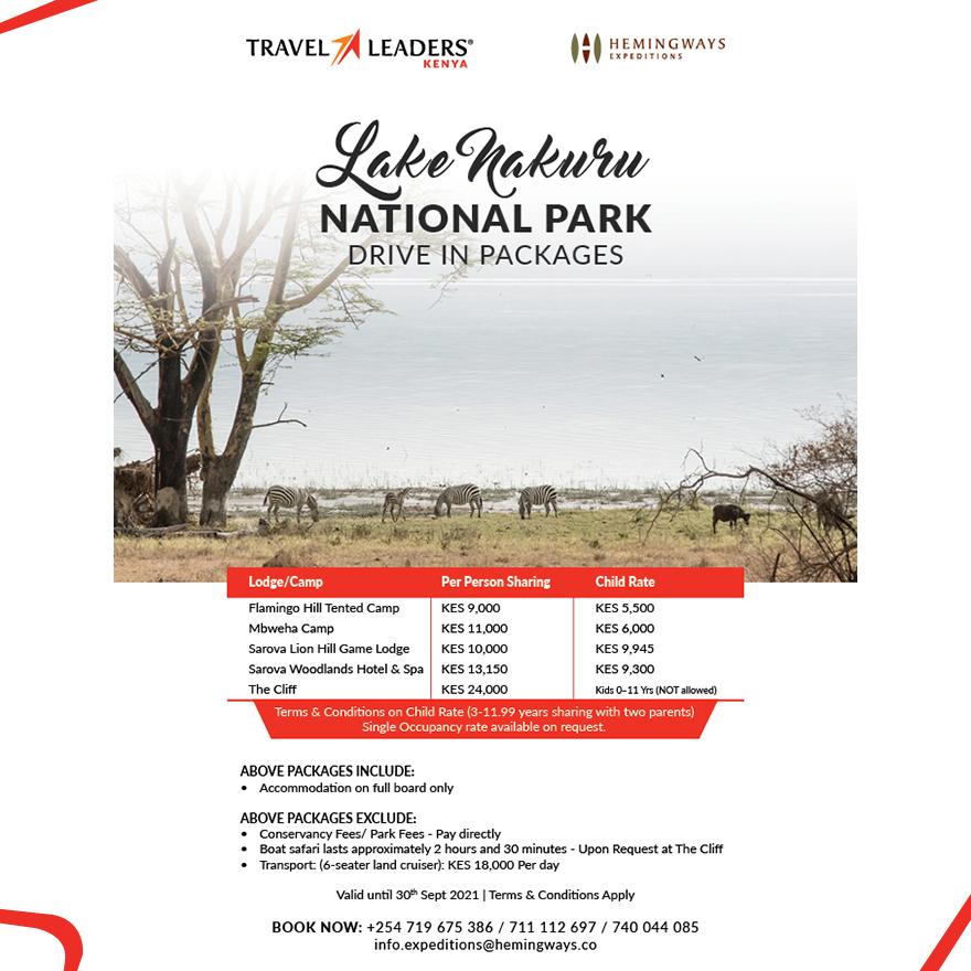 Lake Nakuru National Park - Drive in Package Offer